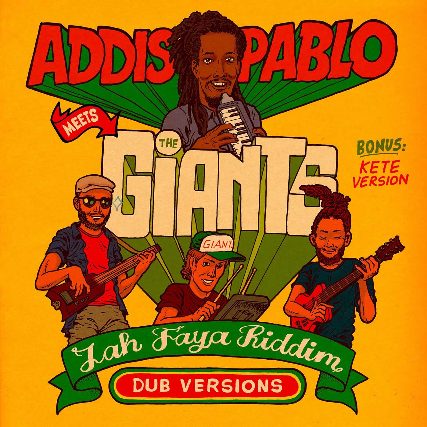 Addis Pablo meets The Giants - Jah Faya Riddim | Reggae Roots Dub